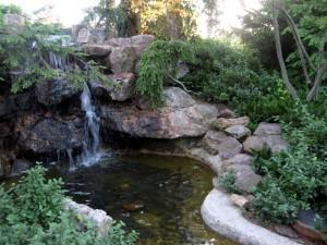 a favorite hide-away, Chicago Botanic Gardens
