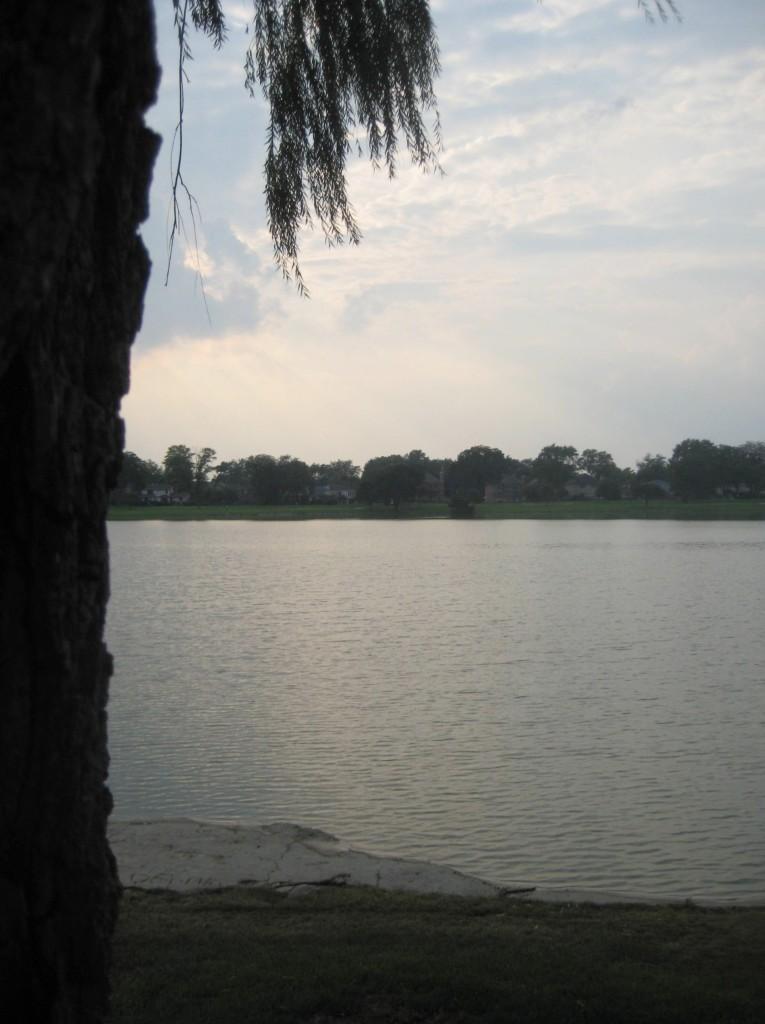 the rock re emerges at lake opeka
